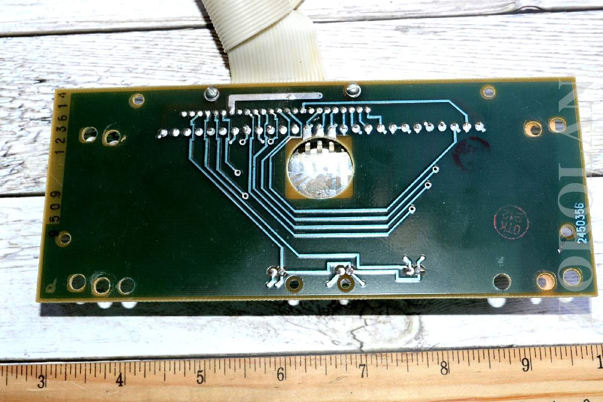 1x Ilc1 13 8l Vfd Digit Display Nixie Tube On Pcb Russian Soviet Ebay Schematic Of My 6 Clock Here Are Some Photos 4